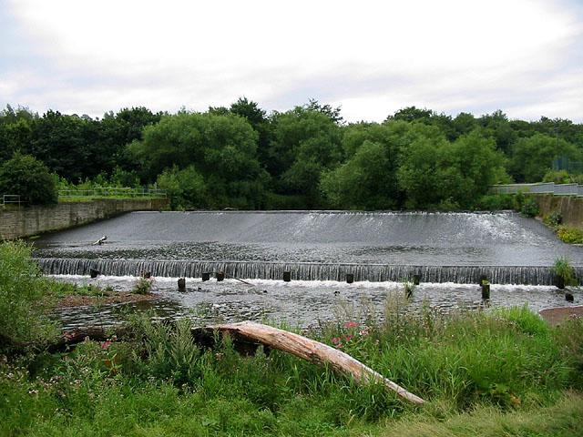 Weir on the River Derwent