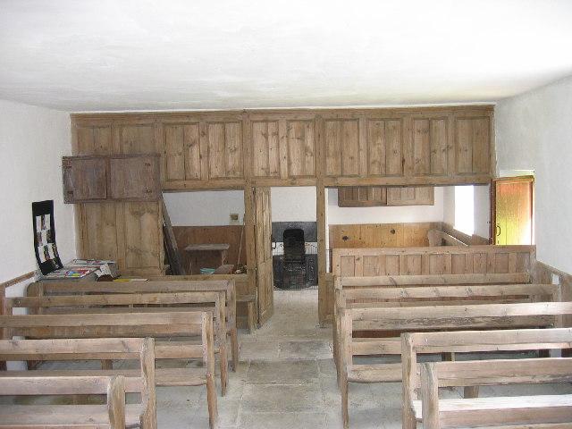 Friends Meeting House (interior), Coanwood near Haltwhistle