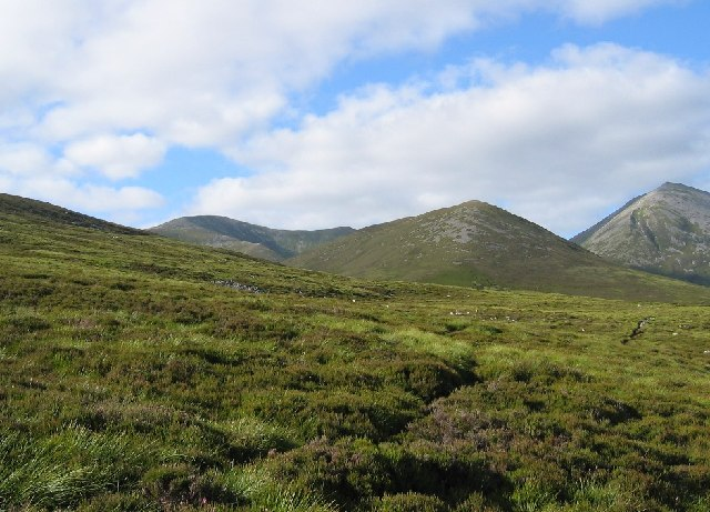 Lower east slope of Carn Liath
