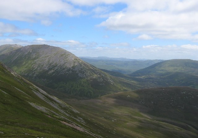 NE Coire of Carn Liath
