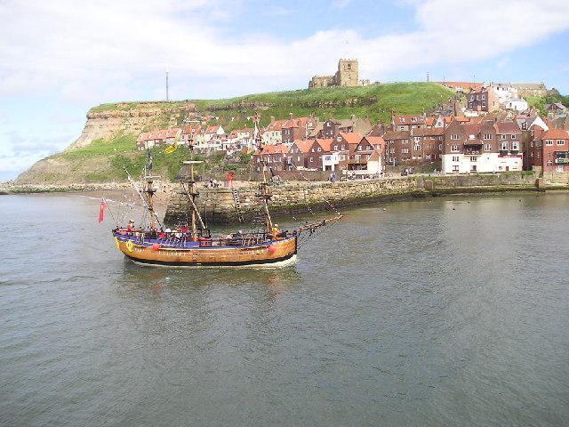 Whitby pleasure boat