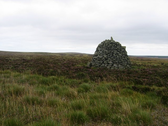 Memorial Cairn, The Dod.