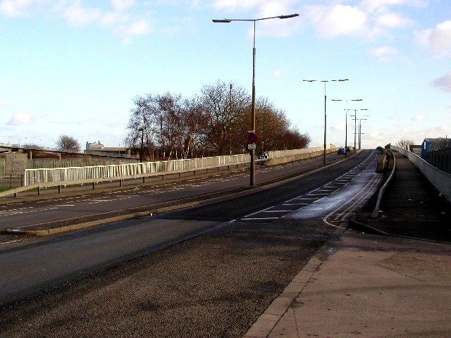 Hessle Road Flyover