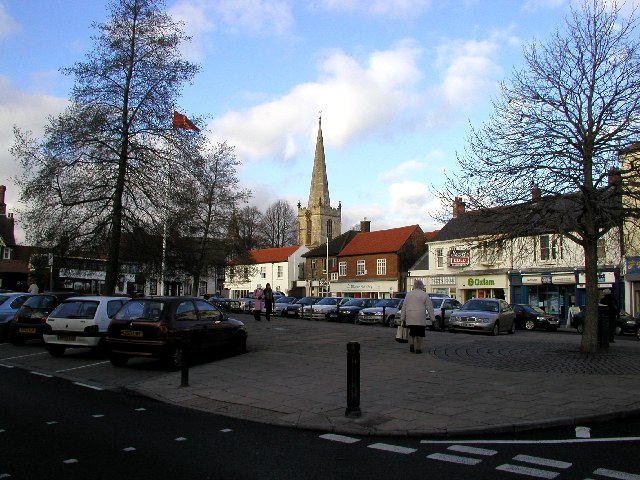 Hessle Square and Church