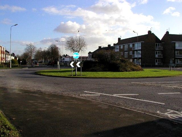 Kingston Road Roundabout