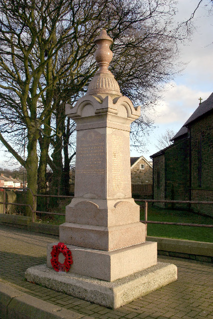 War Memorial, Throckley