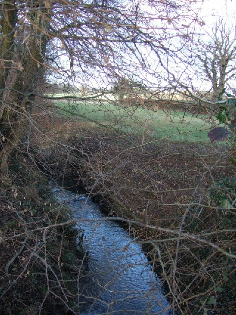 Bents Brook near Inholms Farm