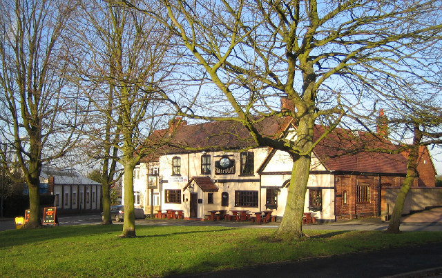 Village Green and Pub, Hartshill