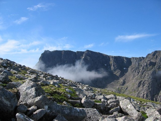 North Face of Ben Nevis from the lower slopes of Carn Beag Dearg