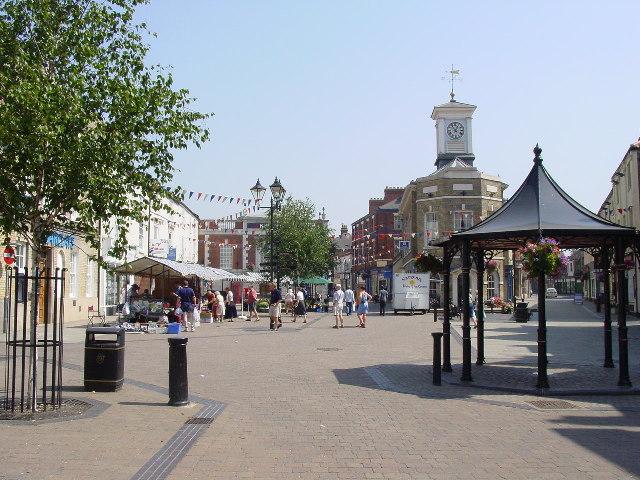 Brigg Town Centre