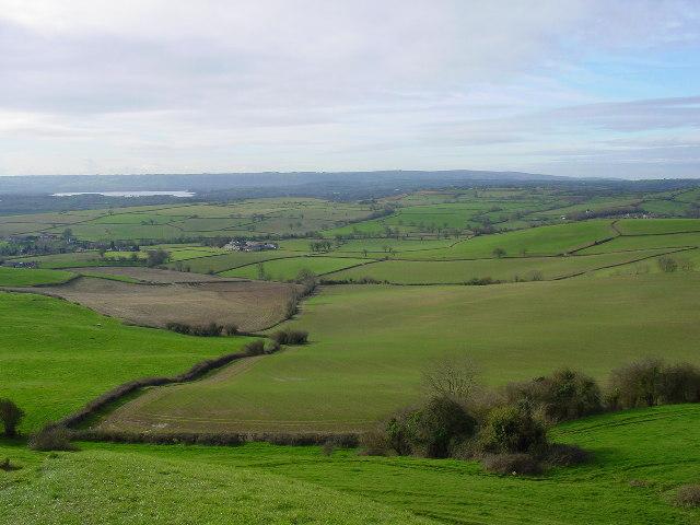 On Maes Knoll Hill Fort near Bristol