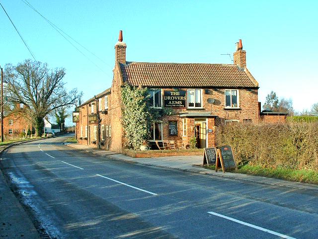 Skipwith Village, Drovers Arms inn