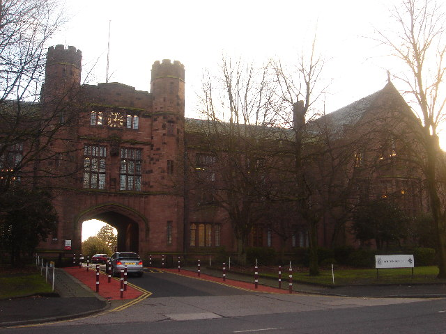 Bolton School, main entrance