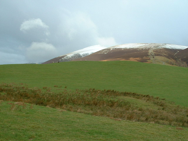 Start of the route up Skiddaw