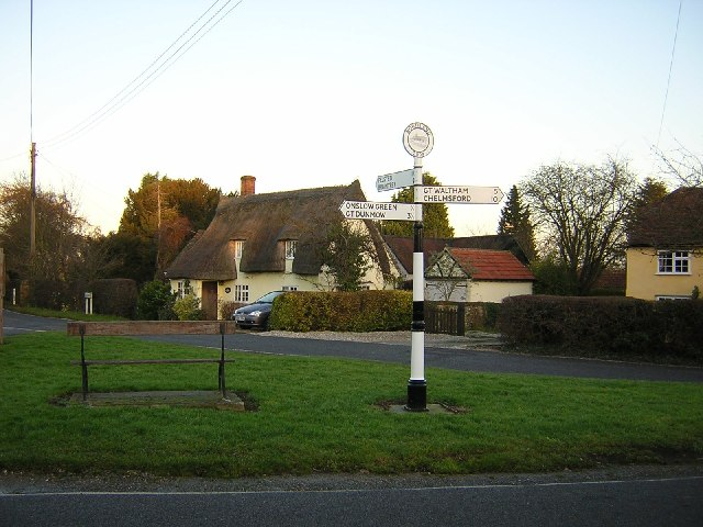 Signpost in North end