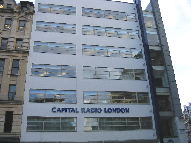 Capital Radio in Leicester Square