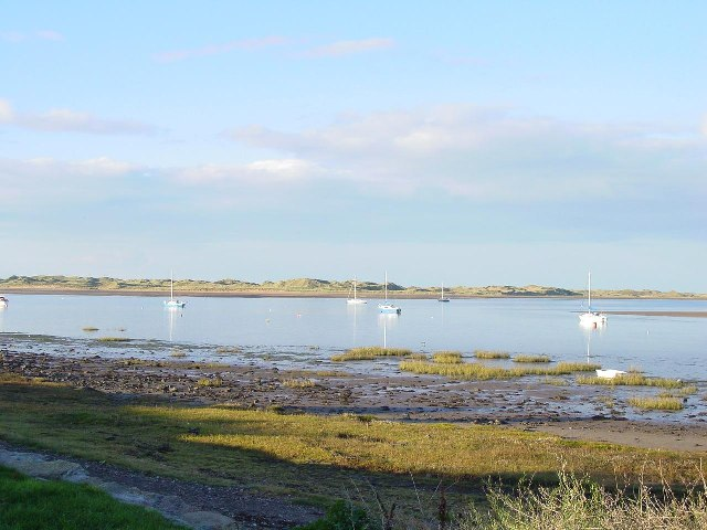 The Esk Estuary at Ravenglass