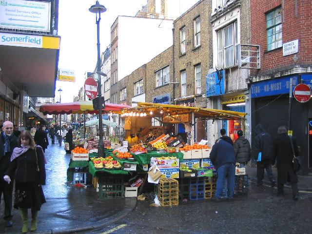 Berwick Street Market, Soho