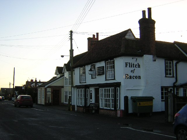 Flitch of Bacon pub, Little Dunmow.