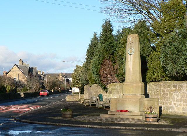 Longhirst War Memorial