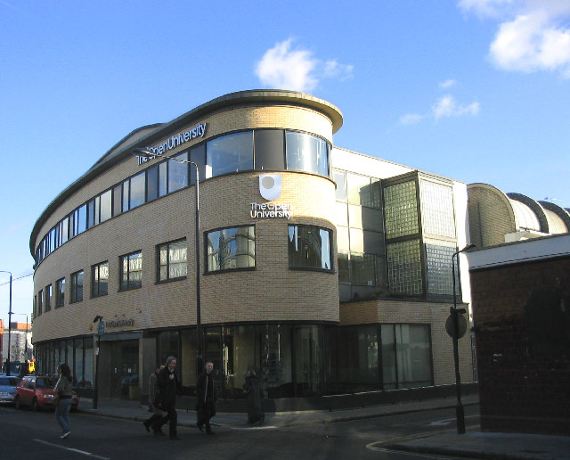 Offices for London Region of the Open University in Hawley Crescent, Camden