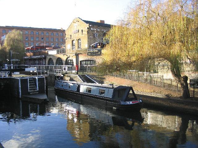 Hampstead Road Lock, Regents Canal