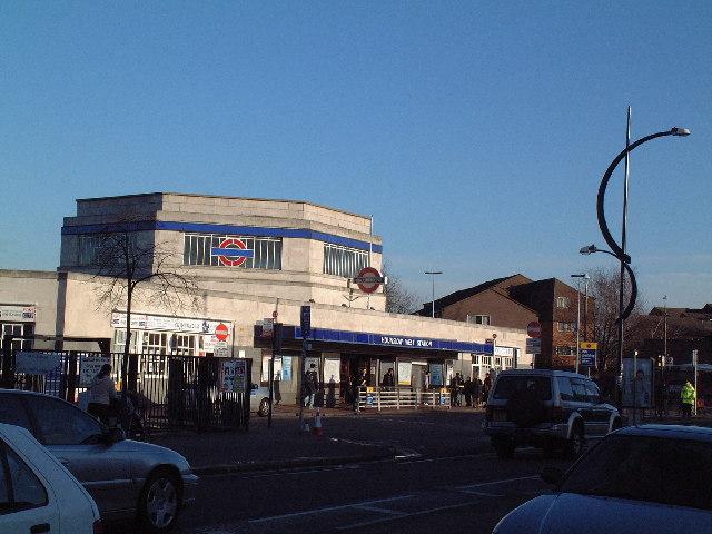 Hounslow West tube station