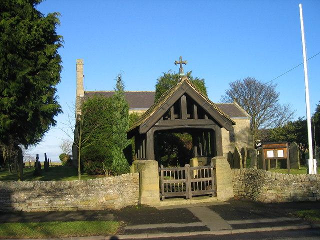 Slaley, St. Mary's church entrance