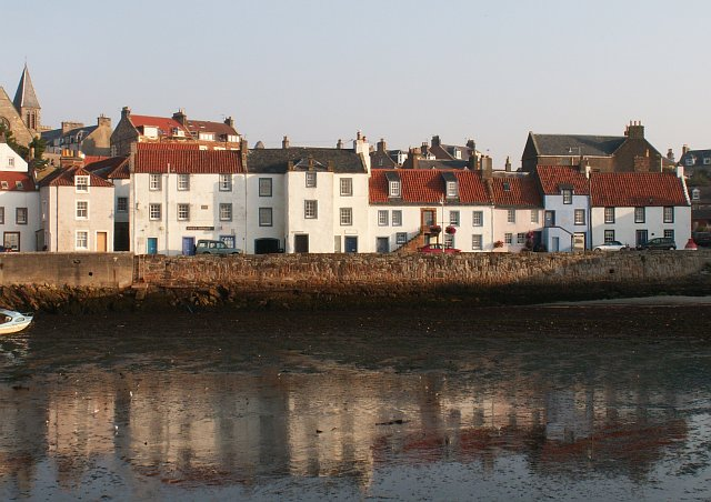 St Monans by the harbour