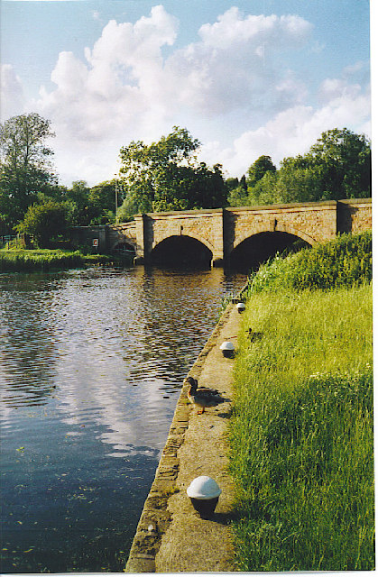 Barrow upon Soar - the bridge.