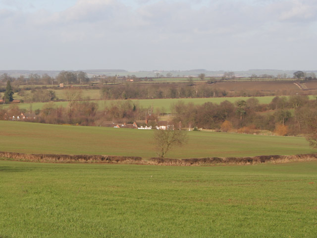 Farmland and Little Beeby, Leicestershire