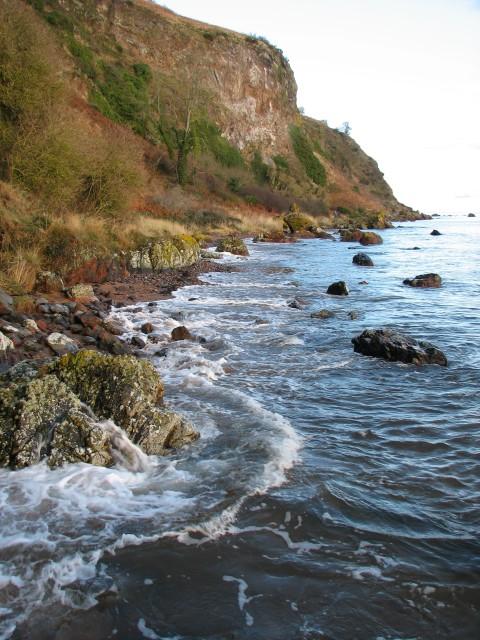 Coast below Scart Craig