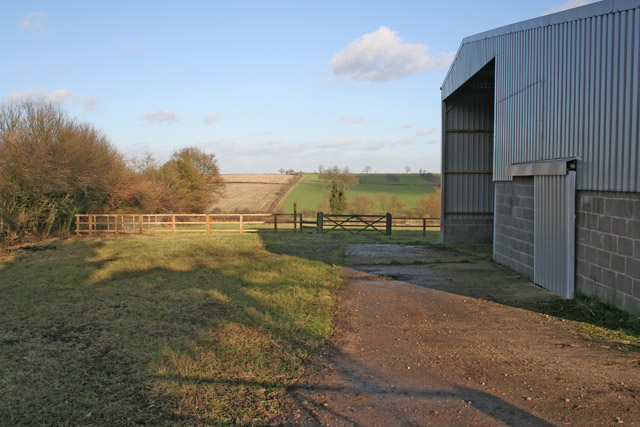 Large Barn near Keyham, Leicestershire