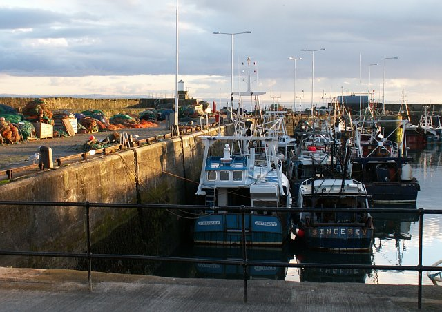 Pittenweem west harbour