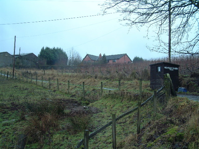 Farm buildings on Dalreichmoor
