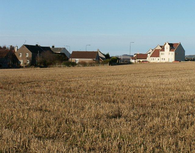 Pittenweem, East edge