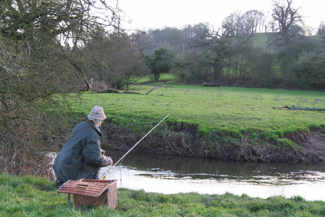 Silverton: fishing on the Culm