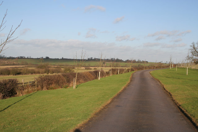 Countryside near Old Ingarsby, Leicestershire