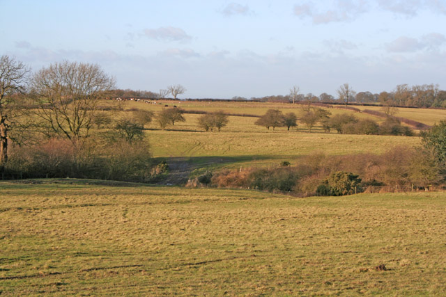 Farmland near Old Ingarsby, Leicestershire