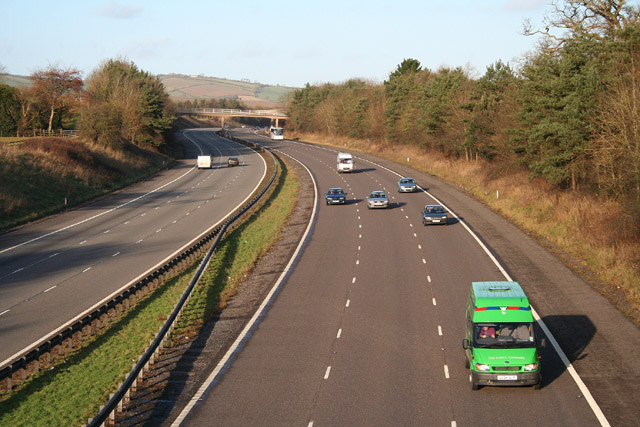 Broadclyst: the M5 Motorway