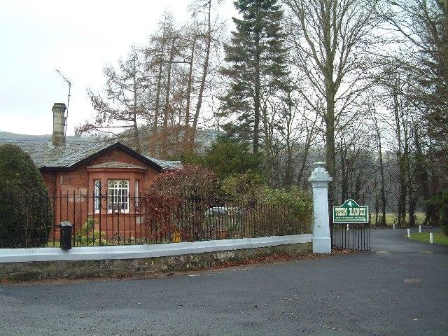 Gatehouse to Ballindean Estate