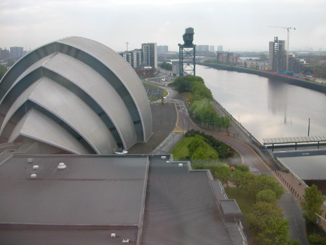 Glasgow Moat House Hotel view.