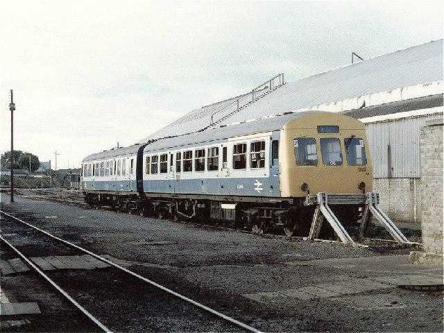 Ayr Railway Depot