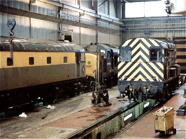 Eastfield Railway Depot