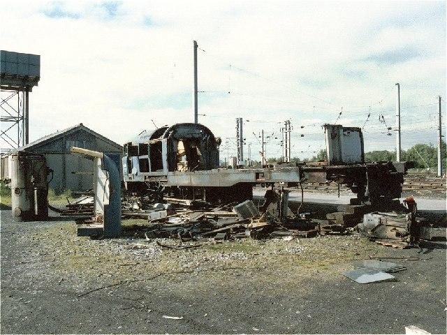 Carlisle Kingmoor Railway Depot