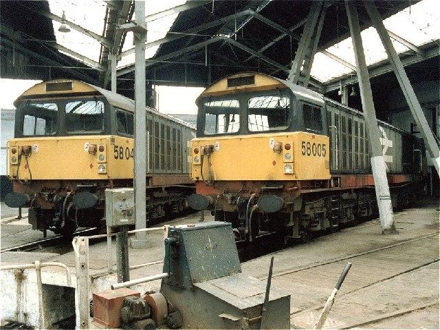 Barrow Hill Railway Depot