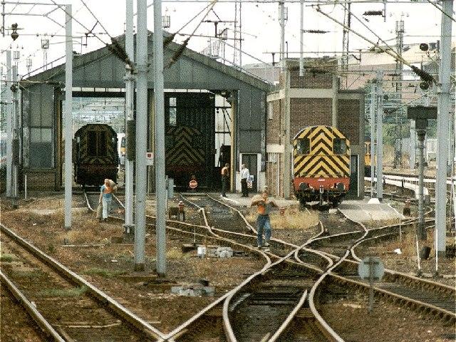 Colchester Railway Depot