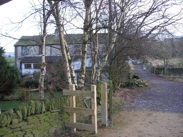 Lane near Netherthong