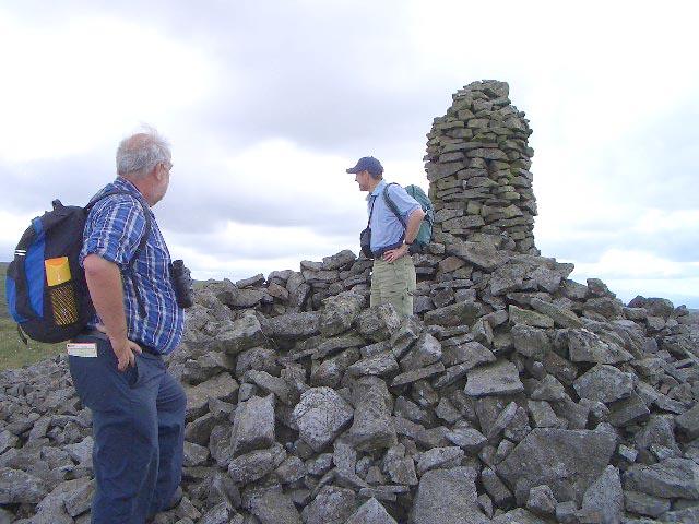 Currick Fell Summit near Tindale