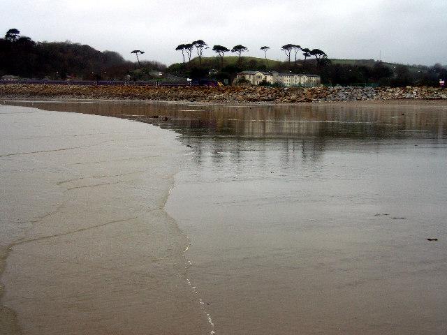 Low tide in Mounts Bay